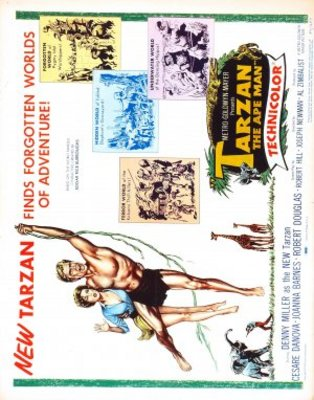 Tarzan, the Ape Man movie poster (1959) poster MOV_6772c52a