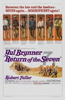 Return of the Seven movie poster (1966) picture MOV_67776047