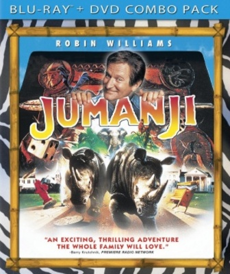 Jumanji movie poster (1995) poster MOV_677c183b