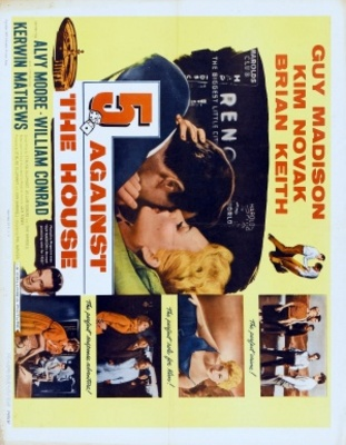 5 Against the House movie poster (1955) poster MOV_678a99c4
