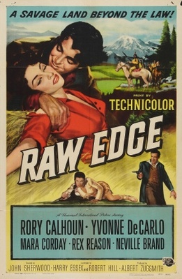 Raw Edge movie poster (1956) poster MOV_678b9aeb