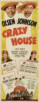 Crazy House movie poster (1943) poster MOV_679c746a