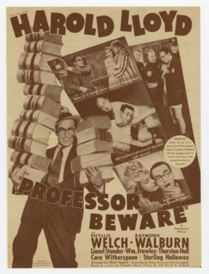 Professor Beware movie poster (1938) poster MOV_67be475c