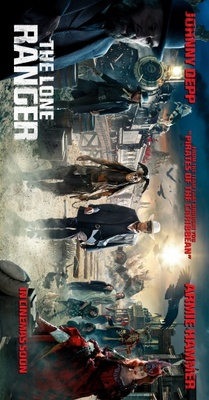 The Lone Ranger movie poster (2013) poster MOV_67ddceba