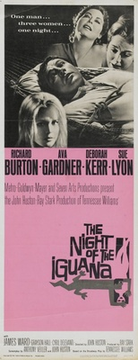 The Night of the Iguana movie poster (1964) poster MOV_68067d6b