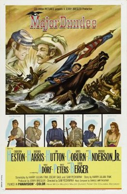 Major Dundee movie poster (1965) poster MOV_680e9972