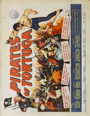 Pirates of Tortuga movie poster (1961) poster MOV_682317cd