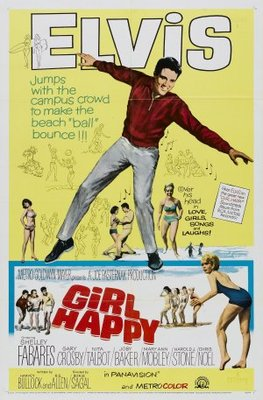 Girl Happy movie poster (1965) poster MOV_68315a71