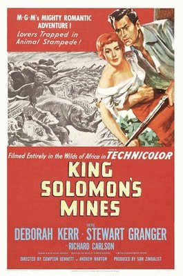 King Solomon's Mines movie poster (1950) poster MOV_6831931b