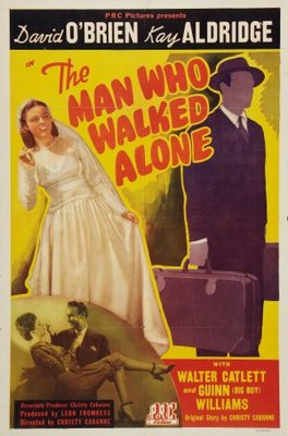 The Man Who Walked Alone movie poster (1945) poster MOV_6848adaf