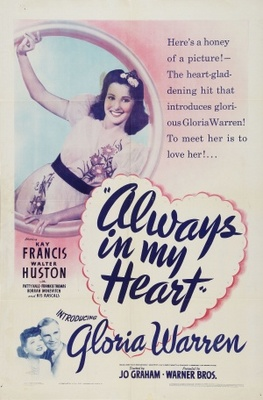 Always in My Heart movie poster (1942) poster MOV_6857c4e0