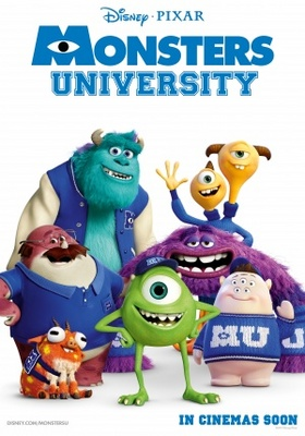 Monsters University movie poster (2013) poster MOV_68607cc0