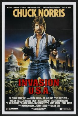 Invasion USA movie poster (1985) poster MOV_686d029c