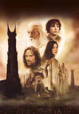 The Lord of the Rings: The Two Towers movie poster (2002) poster MOV_688b35b3
