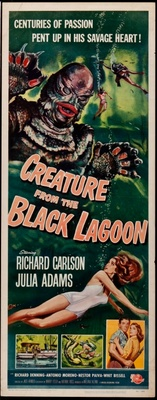 Creature from the Black Lagoon movie poster (1954) poster MOV_68a9761b