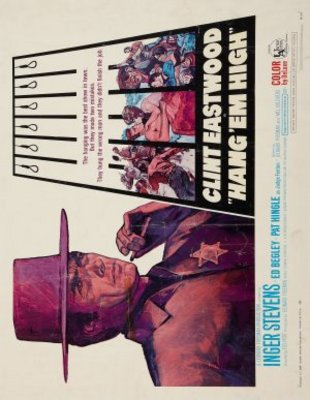 Hang Em High movie poster (1968) poster MOV_68b97b8e