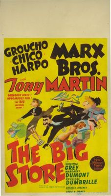The Big Store movie poster (1941) poster MOV_68fa85dd