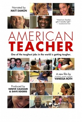 American Teacher movie poster (2011) poster MOV_68faa25b