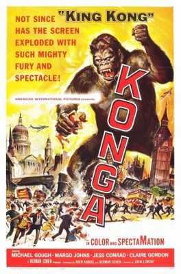 Konga movie poster (1961) poster MOV_6903580e