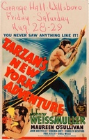 Tarzan's New York Adventure movie poster (1942) picture MOV_d1d5cfb1