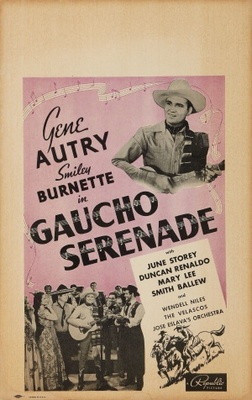 Gaucho Serenade movie poster (1940) poster MOV_69155c9a