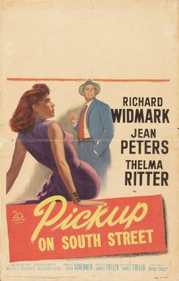 Pickup on South Street movie poster (1953) poster MOV_696f47bf