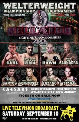 Bellator Fighting Championships movie poster (2009) poster MOV_698a173b