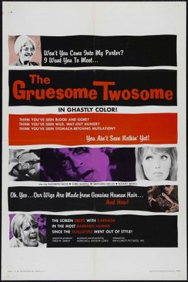 The Gruesome Twosome movie poster (1967) poster MOV_69b2ebc4