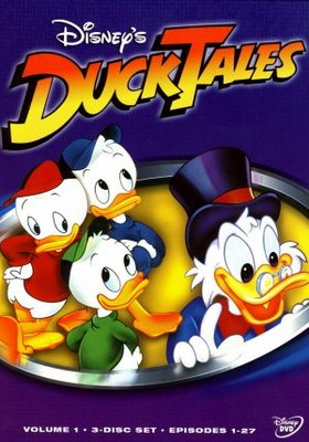 DuckTales movie poster (1987) poster MOV_69c3e453