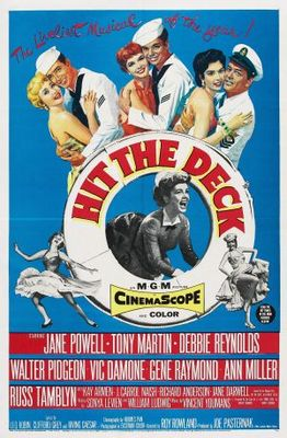 Hit the Deck movie poster (1955) poster MOV_69cd02ec