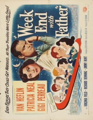 Week-End with Father movie poster (1951) poster MOV_6a082d5b