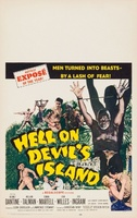 Hell on Devil's Island movie poster (1957) picture MOV_6a1f0806