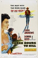 Three Hours to Kill movie poster (1954) picture MOV_6a3a1cdd