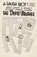 The Devil's Brother movie poster (1933) picture MOV_6a475bcc