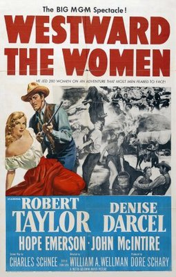 Westward the Women movie poster (1951) poster MOV_6a482dc3