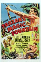 Tarzan's Magic Fountain movie poster (1949) picture MOV_6a77c831