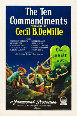 The Ten Commandments movie poster (1923) poster MOV_6ac4323e