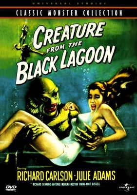 Creature from the Black Lagoon movie poster (1954) poster MOV_6ac58779