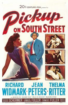 Pickup on South Street movie poster (1953) poster MOV_6ac61db1