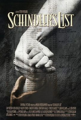 Schindler's List movie poster (1993) poster MOV_6ad6d11e