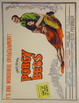 Porgy and Bess movie poster (1959) poster MOV_6addcf57