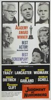 Judgment at Nuremberg movie poster (1961) picture MOV_cab9df76