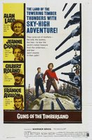 Guns of the Timberland movie poster (1960) picture MOV_6afc5ebb