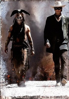 The Lone Ranger movie poster (2013) poster MOV_6b05cf93