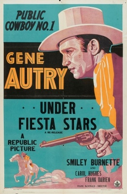 Under Fiesta Stars movie poster (1941) poster MOV_6b25bee9