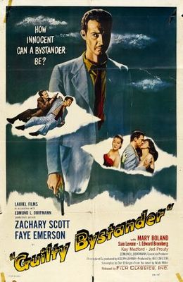 Guilty Bystander movie poster (1950) poster MOV_6b3b802d