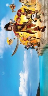 The Pirates! Band of Misfits movie poster (2012) poster MOV_6b41db37