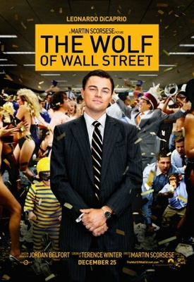 The Wolf of Wall Street movie poster (2013) poster MOV_6b55e2ea