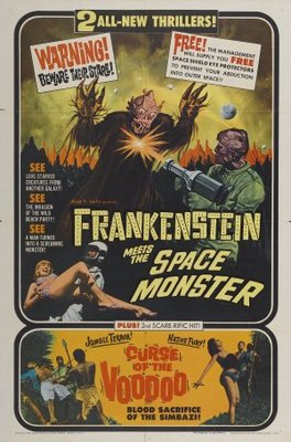 Frankenstein Meets the Spacemonster movie poster (1965) poster MOV_6b66f027
