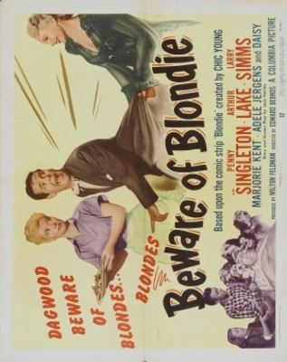 Beware of Blondie movie poster (1950) poster MOV_6b70a31e